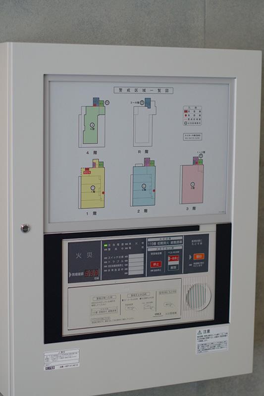 火災警報器コントロールパネル