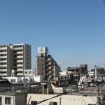 屋上から(駅方面)